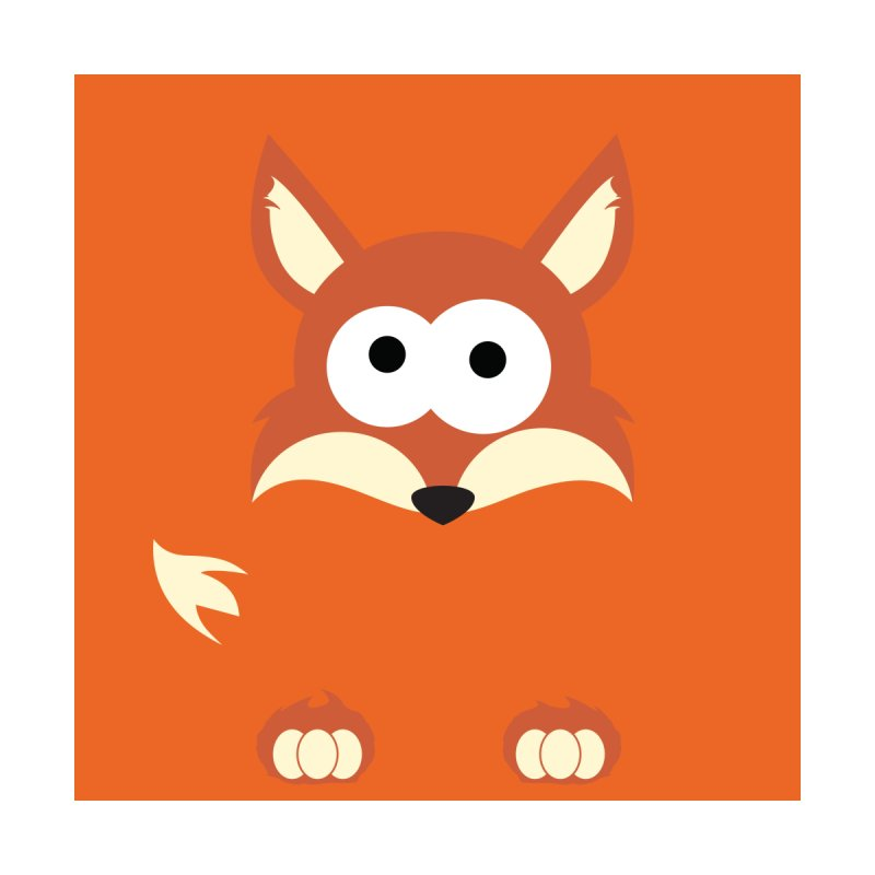 Minnimal Fox by minnimals's Artist Shop