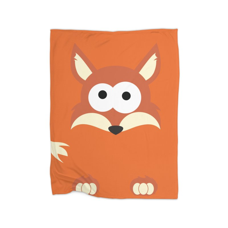Minnimal Fox Home Blanket by minnimals's Artist Shop