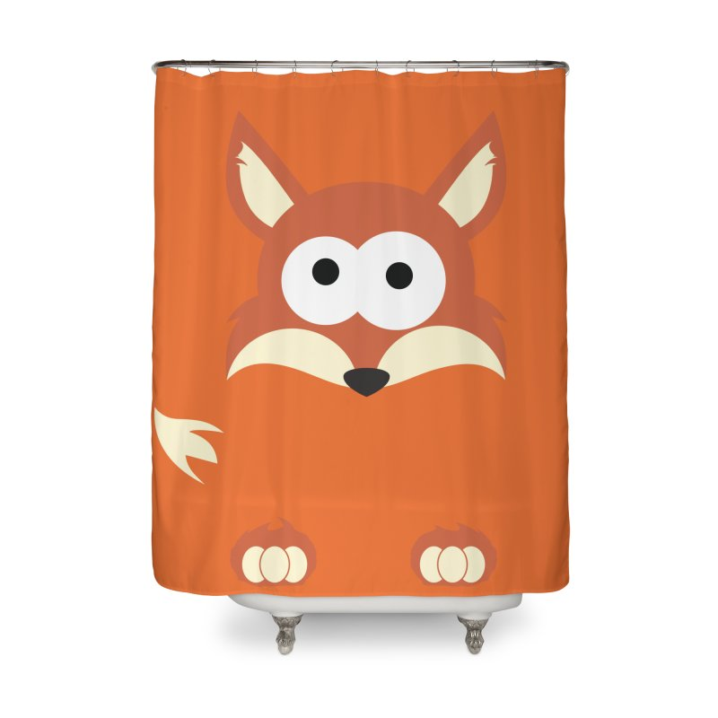 Minnimal Fox Home Shower Curtain by minnimals's Artist Shop
