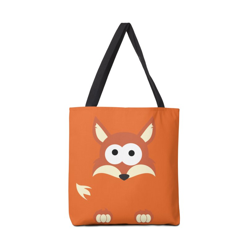 Minnimal Fox Accessories Bag by minnimals's Artist Shop