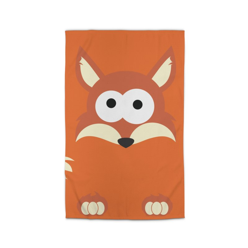 Minnimal Fox Home Rug by minnimals's Artist Shop