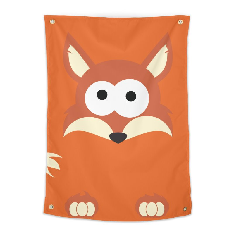 Minnimal Fox Home Tapestry by minnimals's Artist Shop