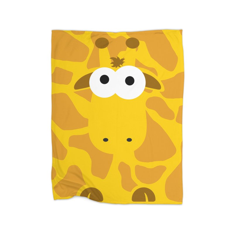 Minnimal Giraffe Home Blanket by minnimals's Artist Shop