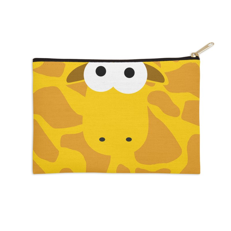 Minnimal Giraffe Accessories Zip Pouch by minnimals's Artist Shop
