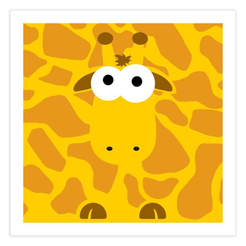 Minnimal Giraffe Home Fine Art Print by minnimals's Artist Shop