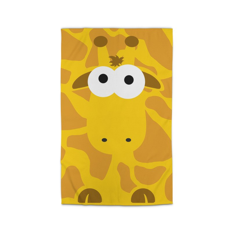 Minnimal Giraffe Home Rug by minnimals's Artist Shop