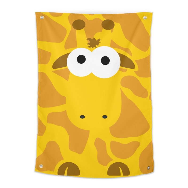 Minnimal Giraffe Home Tapestry by minnimals's Artist Shop
