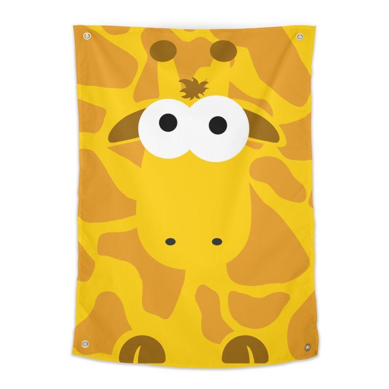 Minnimal Giraffe Home Tapestry by minnimals's Artist Shop