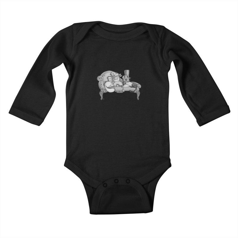 arranged marriage Kids Baby Longsleeve Bodysuit by minoo.nadafian's Artist Shop