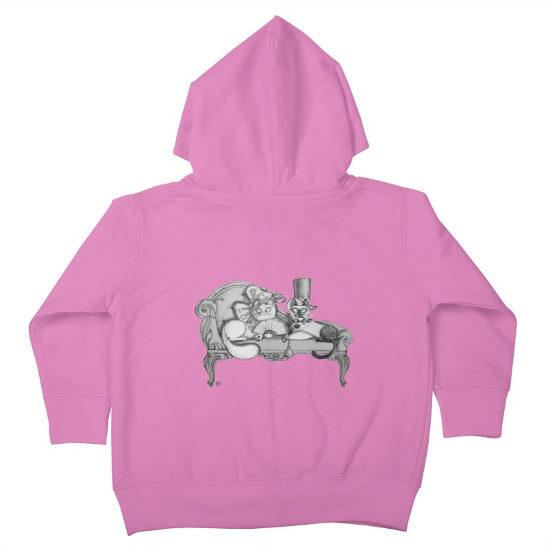 arranged marriage Kids Toddler Zip-Up Hoody by minoo.nadafian's Artist Shop