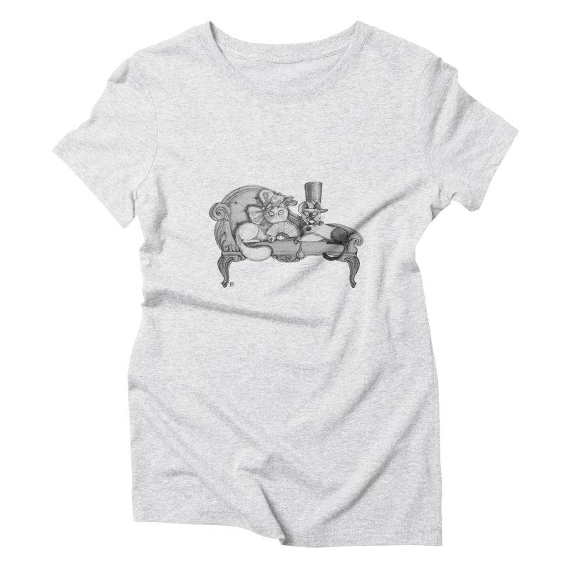 arranged marriage Women's Triblend T-shirt by minoo.nadafian's Artist Shop