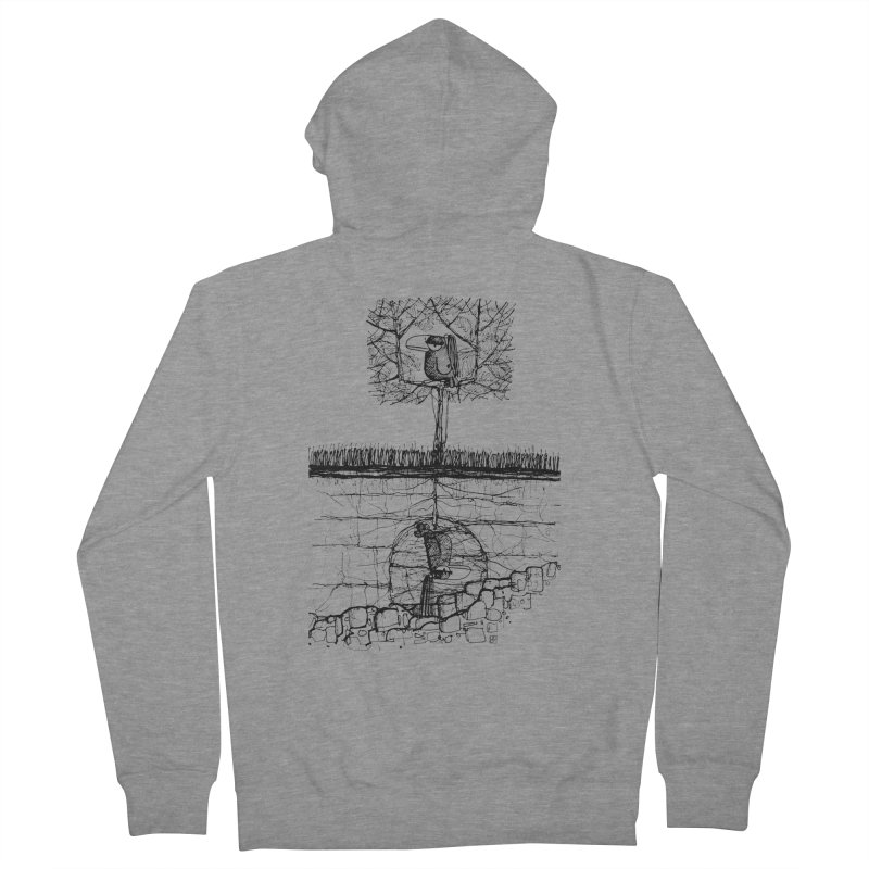 i'm not free Men's Zip-Up Hoody by minoo.nadafian's Artist Shop