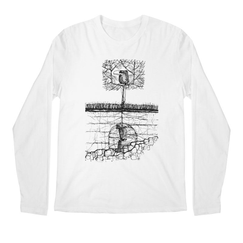 i'm not free Men's Longsleeve T-Shirt by minoo.nadafian's Artist Shop
