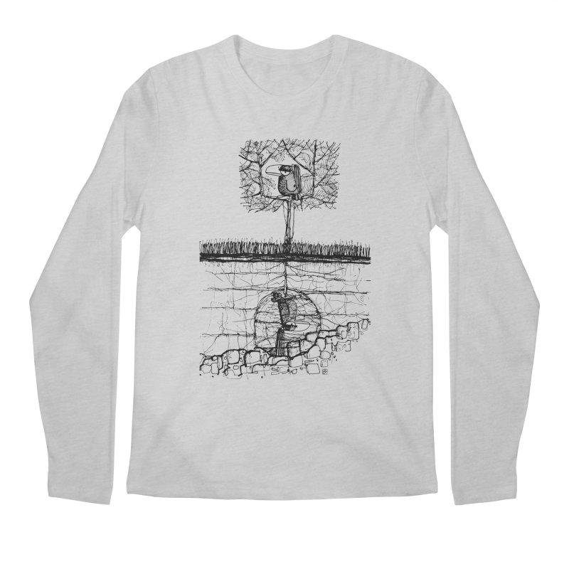 i'm not free Men's Longsleeve T-Shirt by minoo.nadafian's Artist Shop