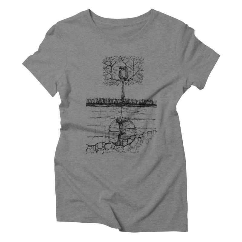 i'm not free Women's Triblend T-Shirt by minoo.nadafian's Artist Shop