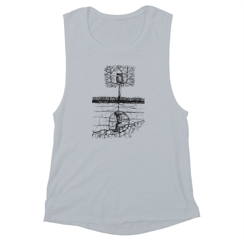 i'm not free Women's Muscle Tank by minoo.nadafian's Artist Shop