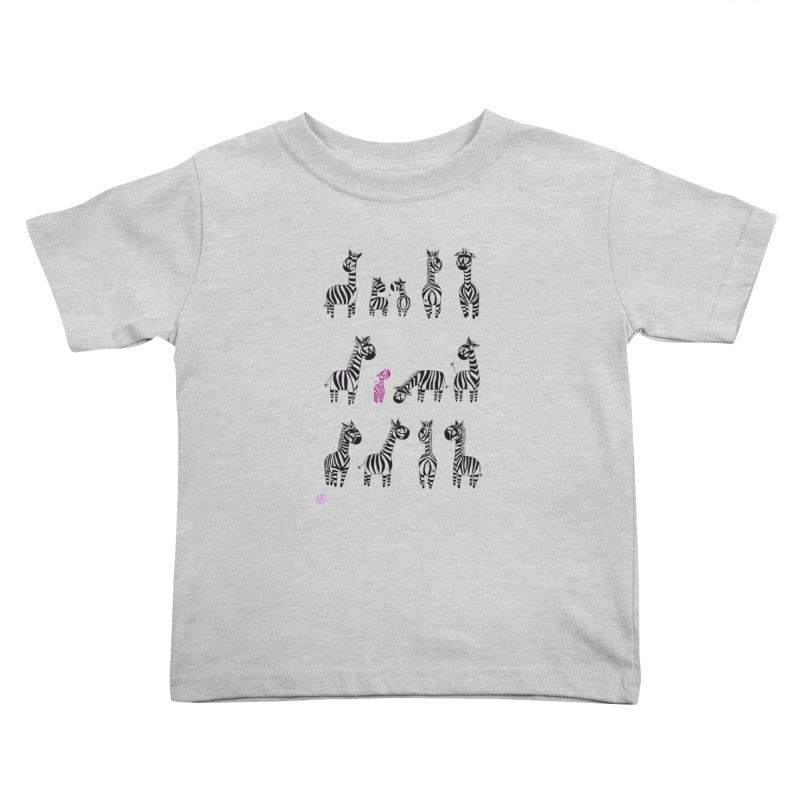 i'm the one!!!! Kids Toddler T-Shirt by minoo.nadafian's Artist Shop
