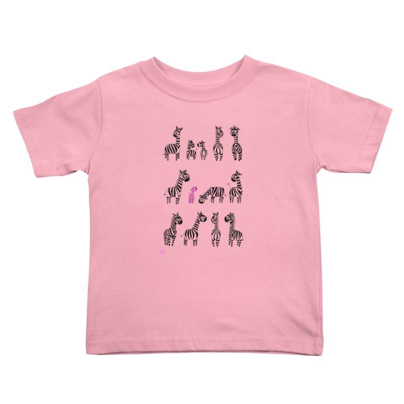 i'm the one!!!! Kids Toddler T-Shirt by minoo.nadafian's Artist Shop
