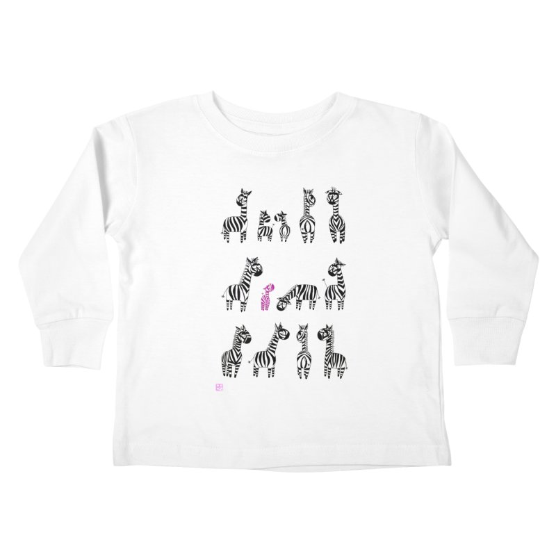 i'm the one!!!! Kids Toddler Longsleeve T-Shirt by minoo.nadafian's Artist Shop