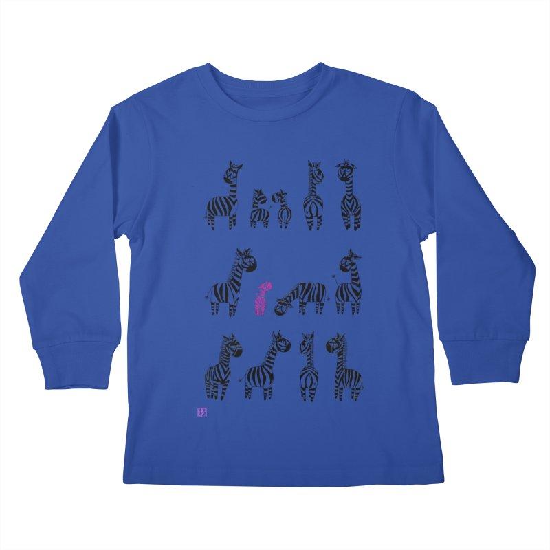 i'm the one!!!! Kids Longsleeve T-Shirt by minoo.nadafian's Artist Shop