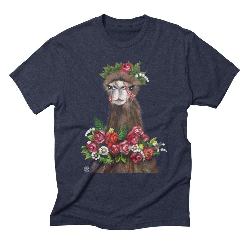 bride of desert Men's Triblend T-shirt by minoo.nadafian's Artist Shop