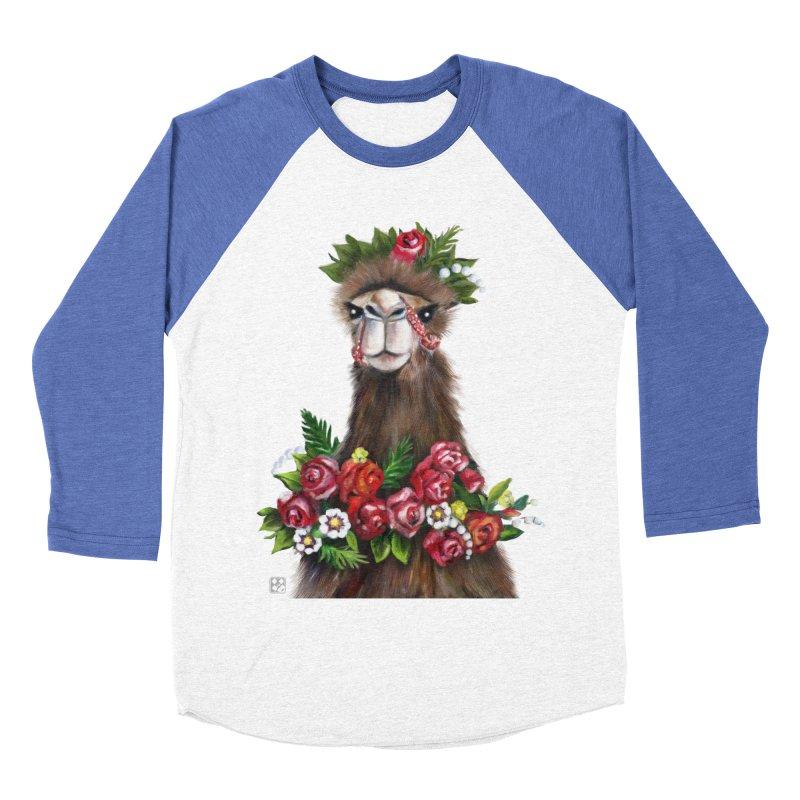 bride of desert Women's Baseball Triblend T-Shirt by minoo.nadafian's Artist Shop