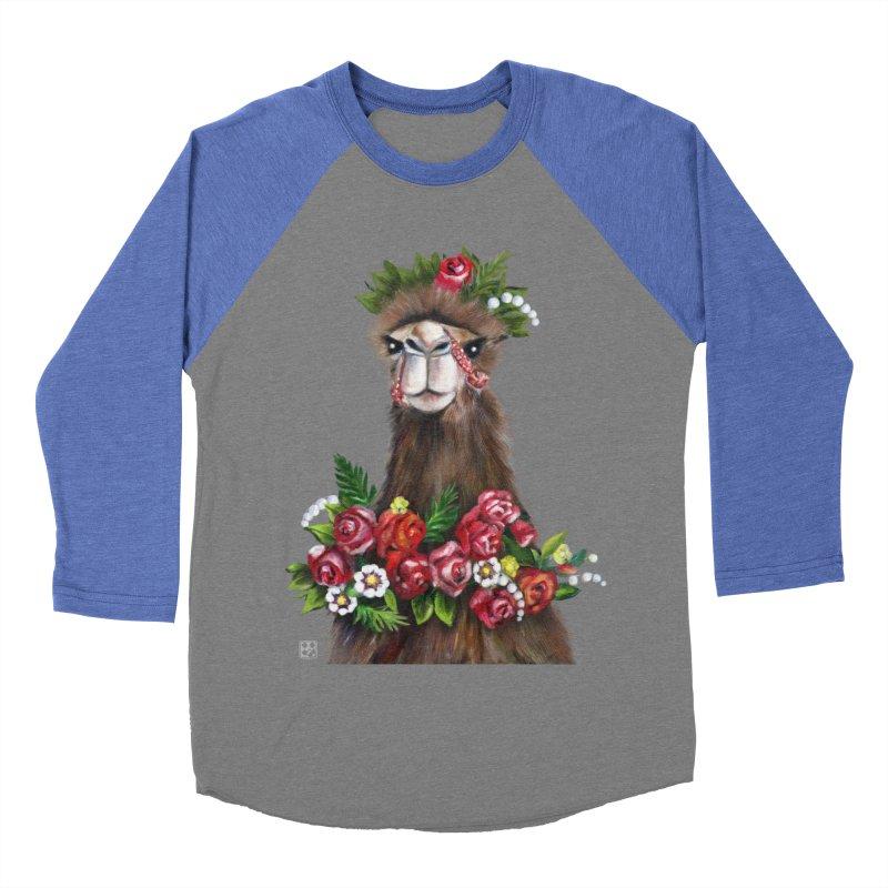 bride of desert Men's Baseball Triblend T-Shirt by minoo.nadafian's Artist Shop
