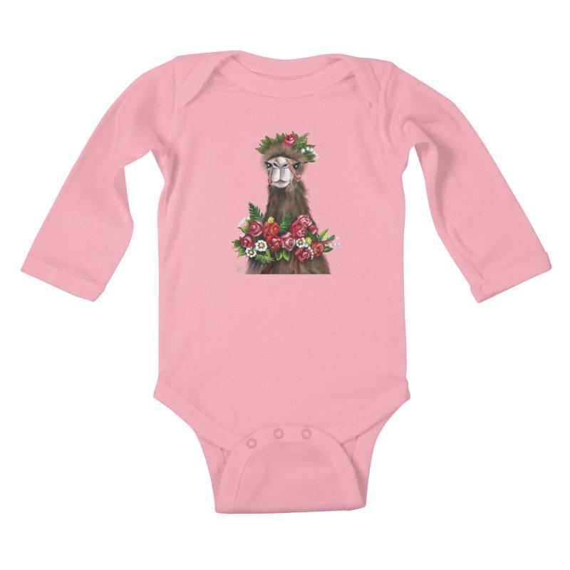 bride of desert Kids Baby Longsleeve Bodysuit by minoo.nadafian's Artist Shop