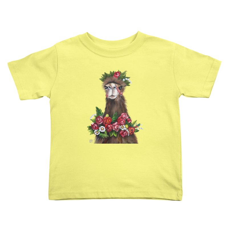 bride of desert Kids Toddler T-Shirt by minoo.nadafian's Artist Shop