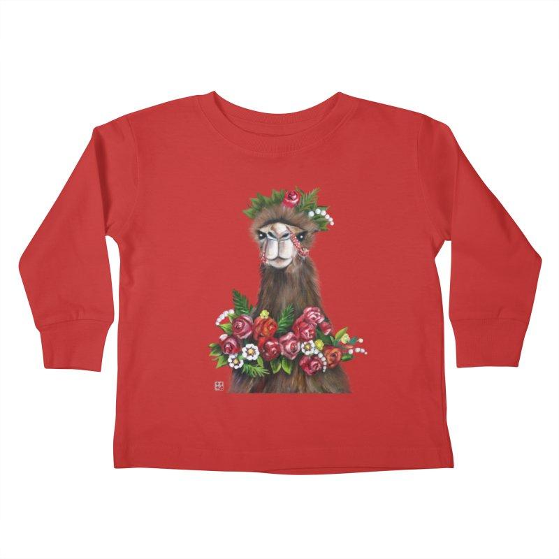 bride of desert Kids Toddler Longsleeve T-Shirt by minoo.nadafian's Artist Shop