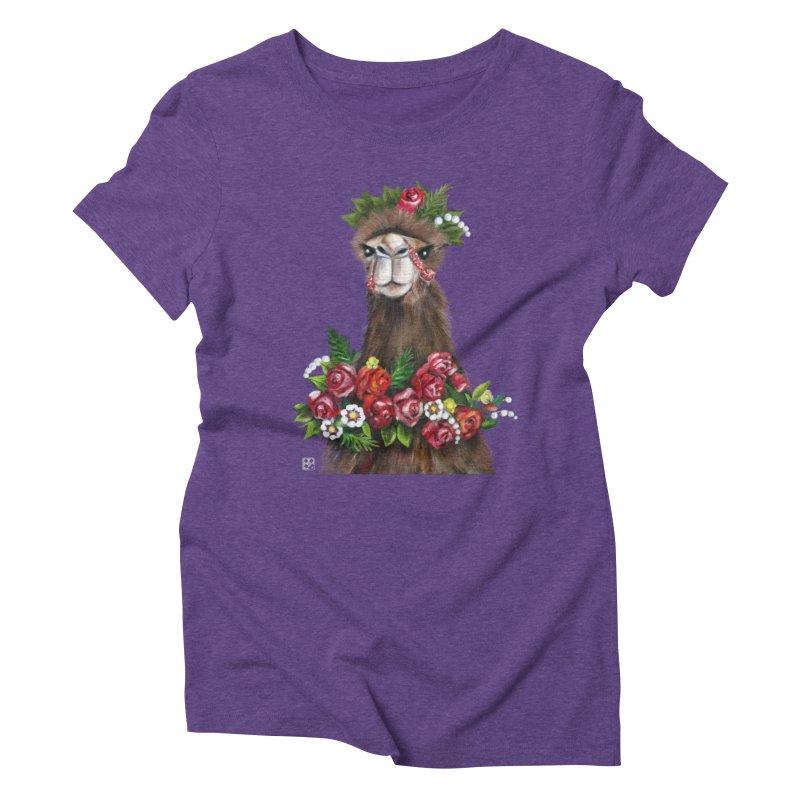 bride of desert Women's Triblend T-shirt by minoo.nadafian's Artist Shop