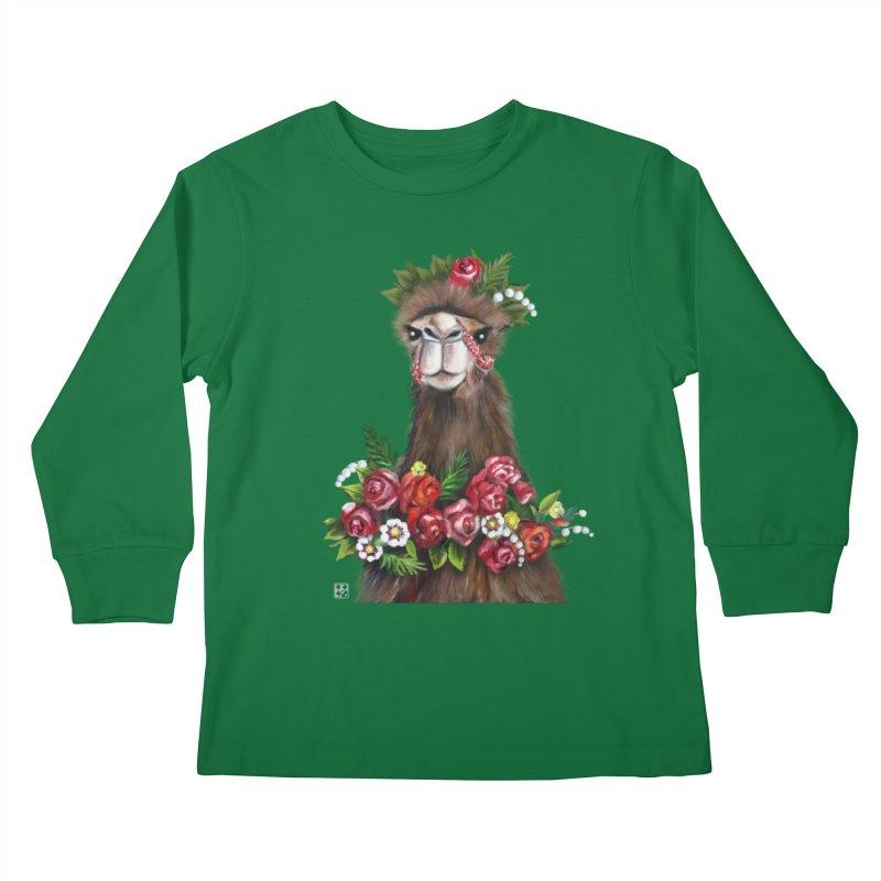 bride of desert Kids Longsleeve T-Shirt by minoo.nadafian's Artist Shop