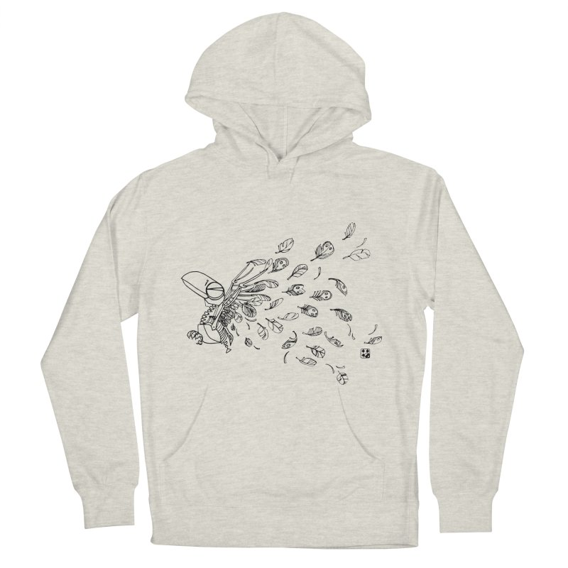 how to fly of all of his feathers? Men's Pullover Hoody by minoo.nadafian's Artist Shop