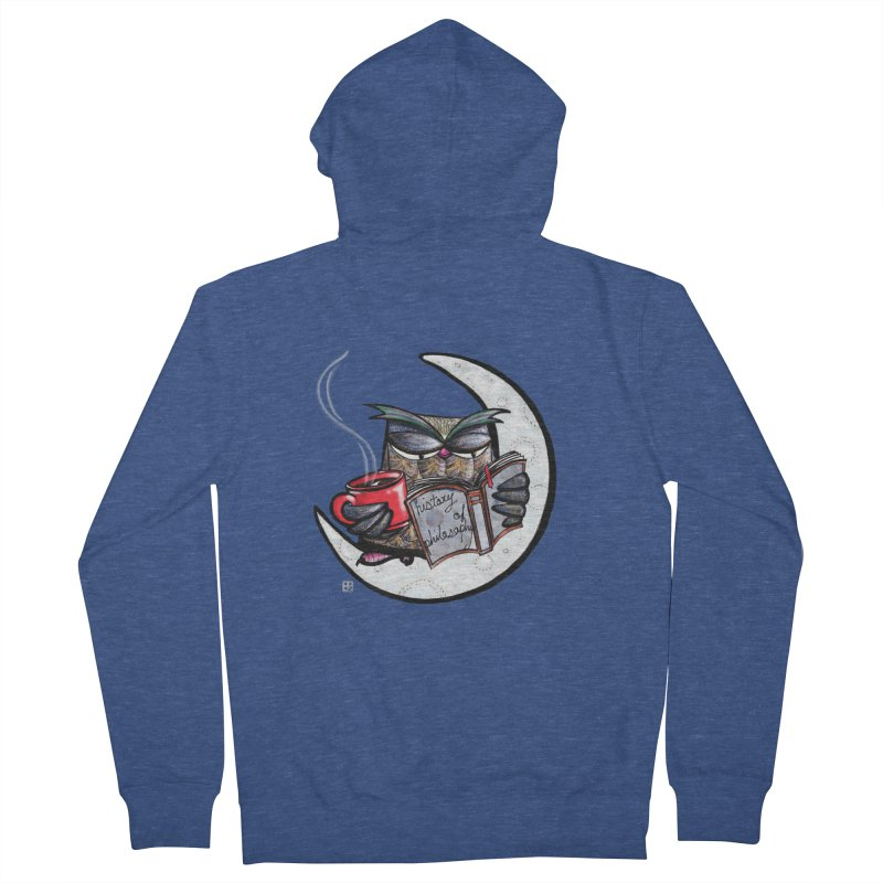 fighting with the night Men's Zip-Up Hoody by minoo.nadafian's Artist Shop