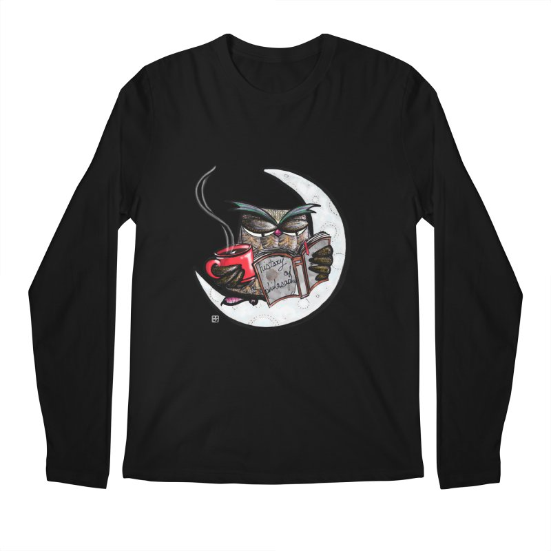 fighting with the night Men's Longsleeve T-Shirt by minoo.nadafian's Artist Shop