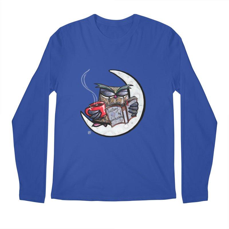 fighting with the night Men's Longsleeve T-Shirt by minoo.nadafian's Artist Shop