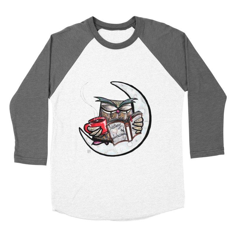 fighting with the night Women's Baseball Triblend T-Shirt by minoo.nadafian's Artist Shop