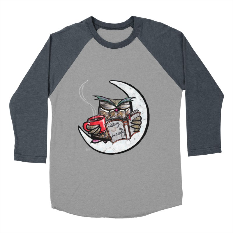 fighting with the night Men's Baseball Triblend T-Shirt by minoo.nadafian's Artist Shop