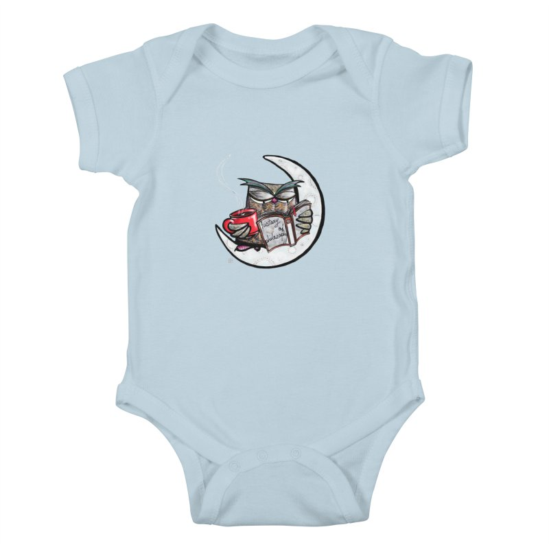 fighting with the night Kids Baby Bodysuit by minoo.nadafian's Artist Shop