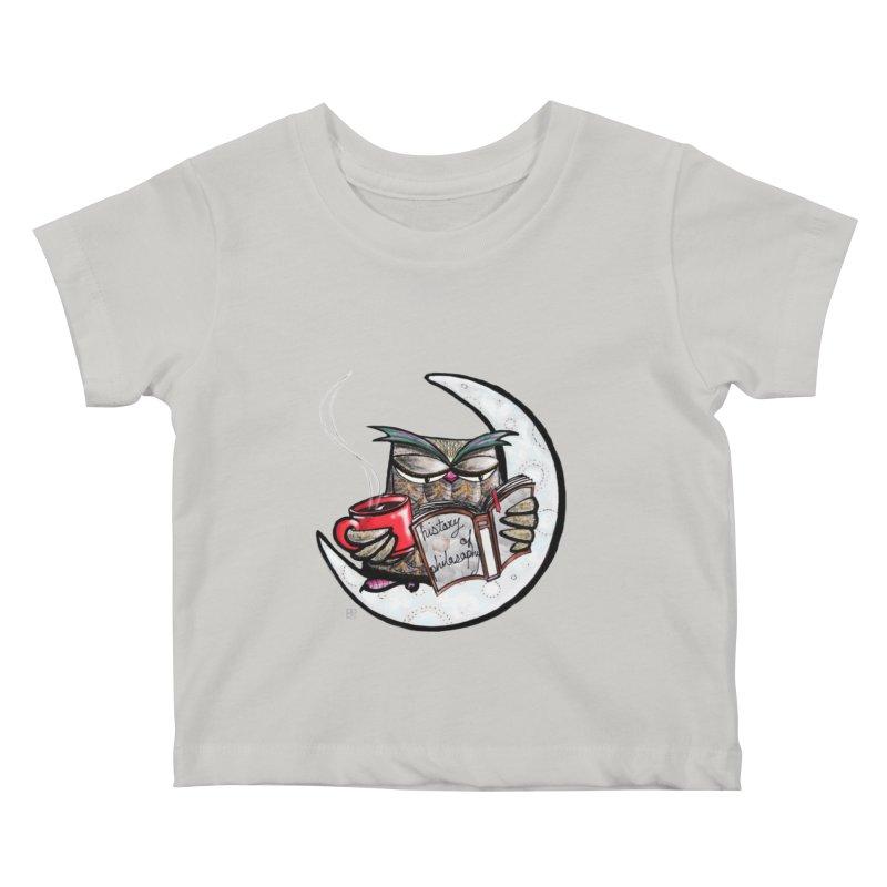 fighting with the night Kids Baby T-Shirt by minoo.nadafian's Artist Shop