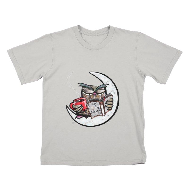 fighting with the night Kids T-shirt by minoo.nadafian's Artist Shop