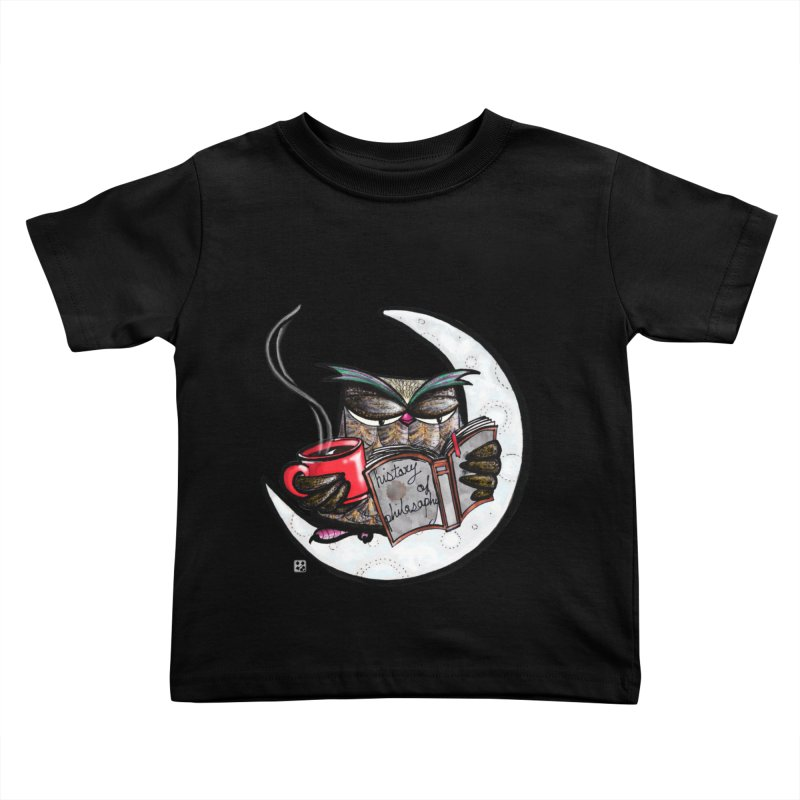fighting with the night Kids Toddler T-Shirt by minoo.nadafian's Artist Shop