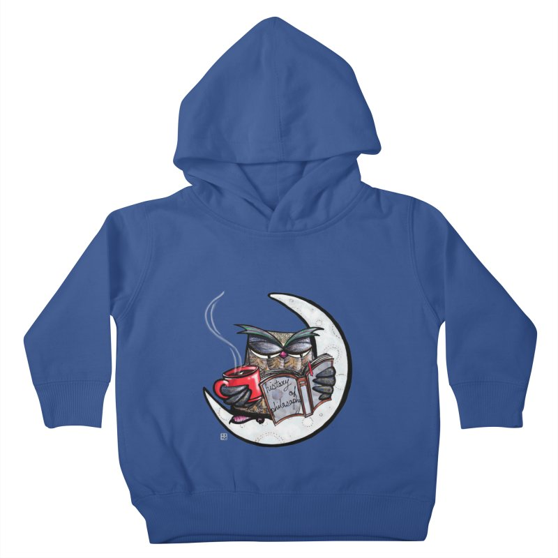 fighting with the night Kids Toddler Pullover Hoody by minoo.nadafian's Artist Shop