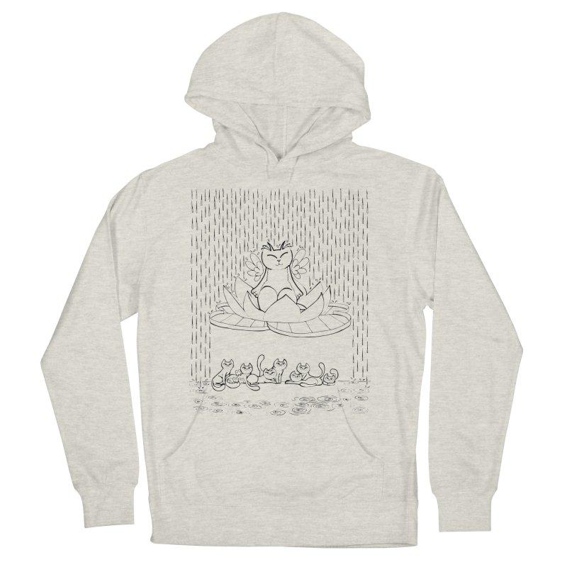 buddha-cat Men's Pullover Hoody by minoo.nadafian's Artist Shop