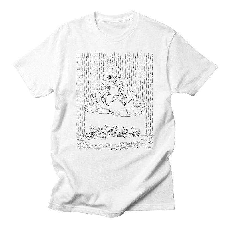 buddha-cat   by minoo.nadafian's Artist Shop