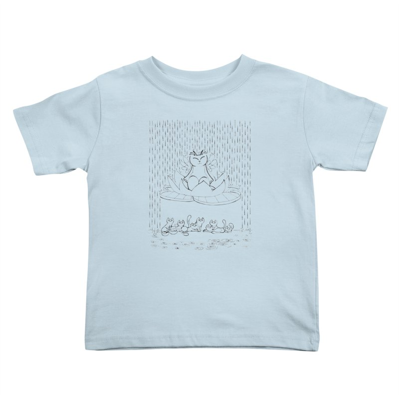 buddha-cat Kids Toddler T-Shirt by minoo.nadafian's Artist Shop