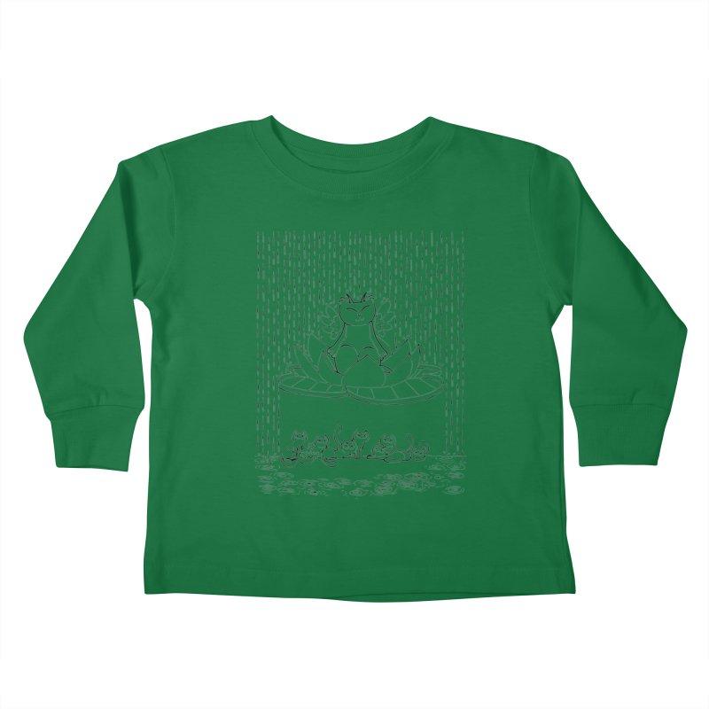 buddha-cat Kids Toddler Longsleeve T-Shirt by minoo.nadafian's Artist Shop