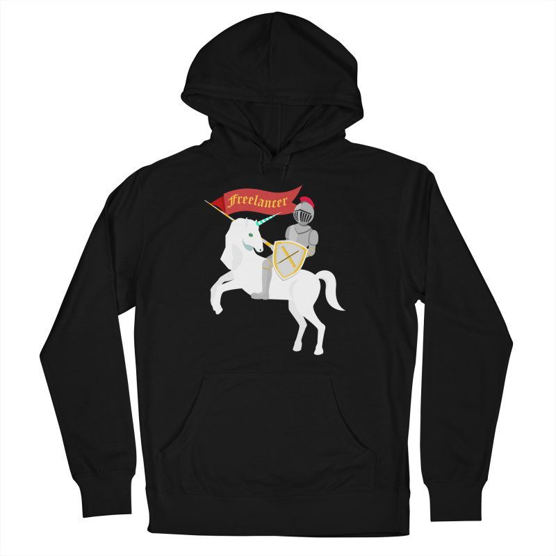 The Freelancer Women's French Terry Pullover Hoody by mintosaur's Artist Shop