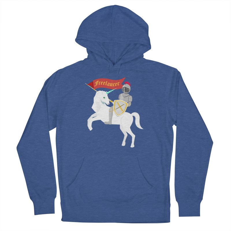 The Freelancer Men's French Terry Pullover Hoody by mintosaur's Artist Shop
