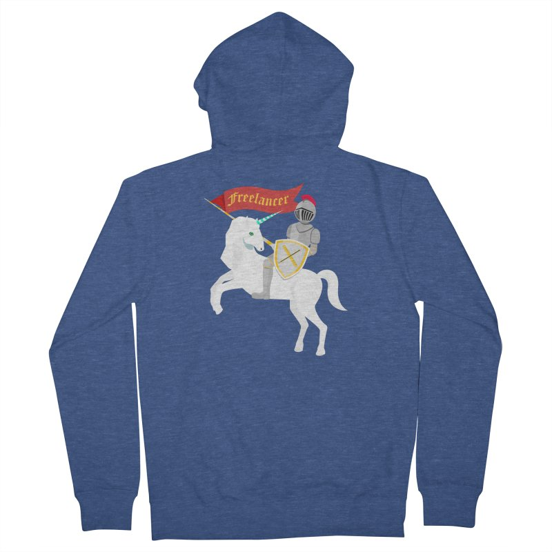 The Freelancer Men's Zip-Up Hoody by mintosaur's Artist Shop